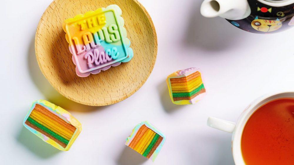 rainbow kueh lapis mooncakes the lapis place