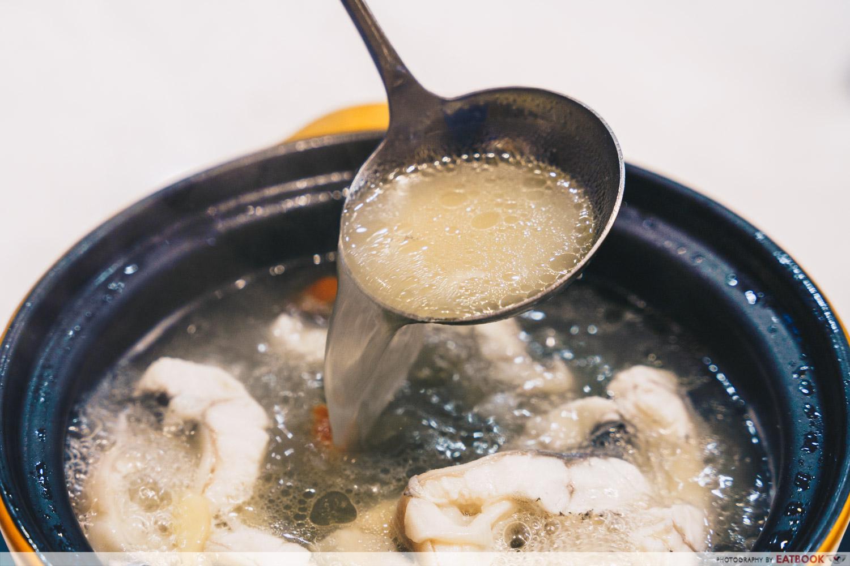 spring water eel broth putien