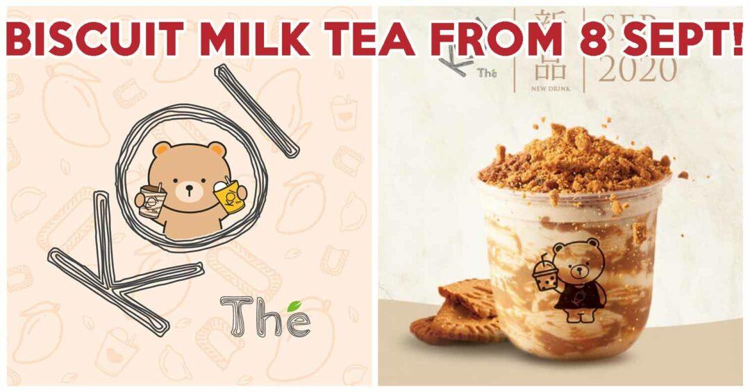 KOI Biscuit Milk Tea