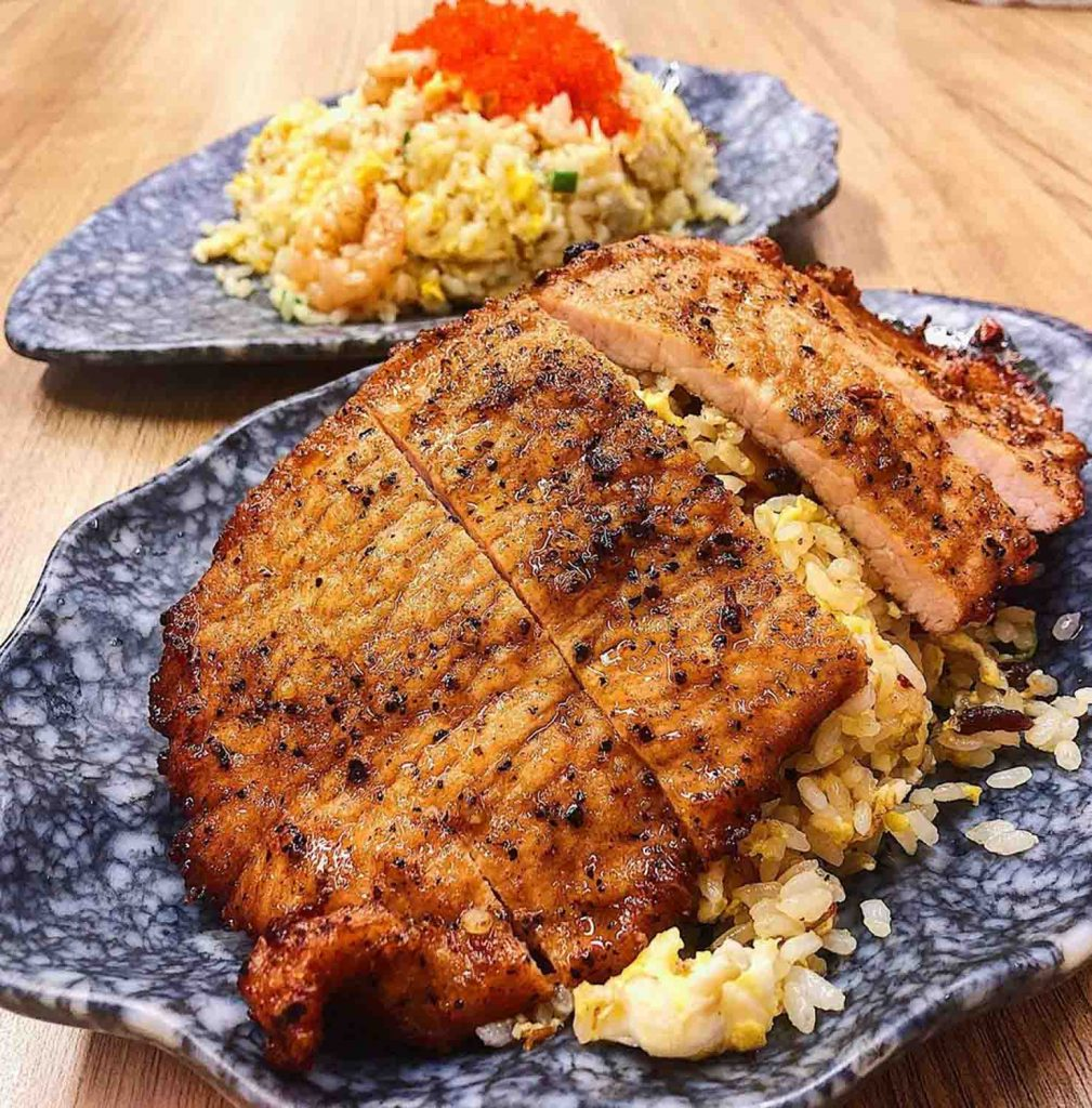 Sengkang King of Fried Rice - pork cutlet egg fried rice