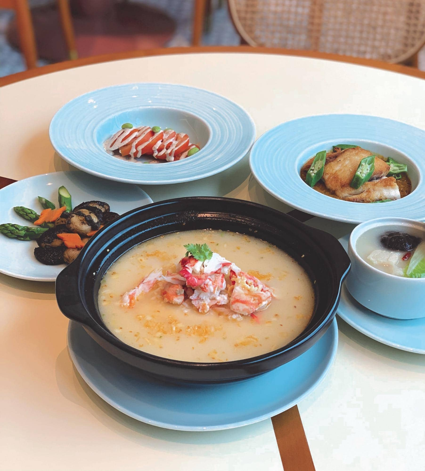 5 Course Set Menu Hi5SG