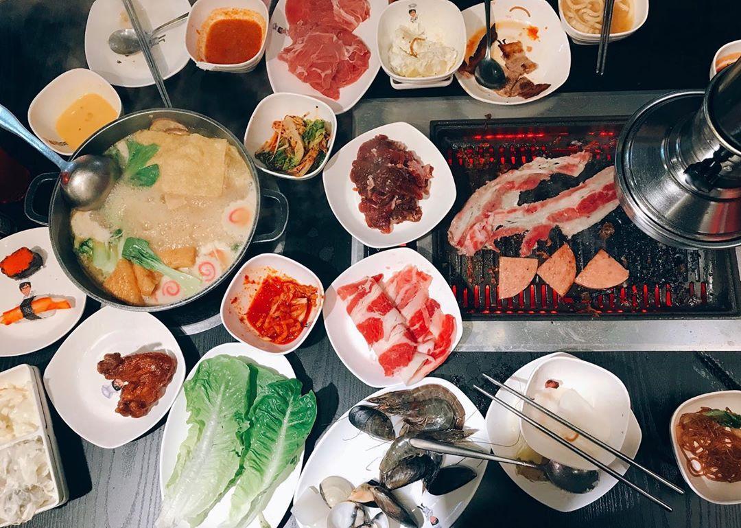AMK Hub food I'm Kim Korean BBQ and Shabu