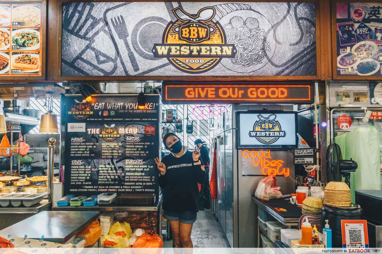 BBW Western Food Storefront