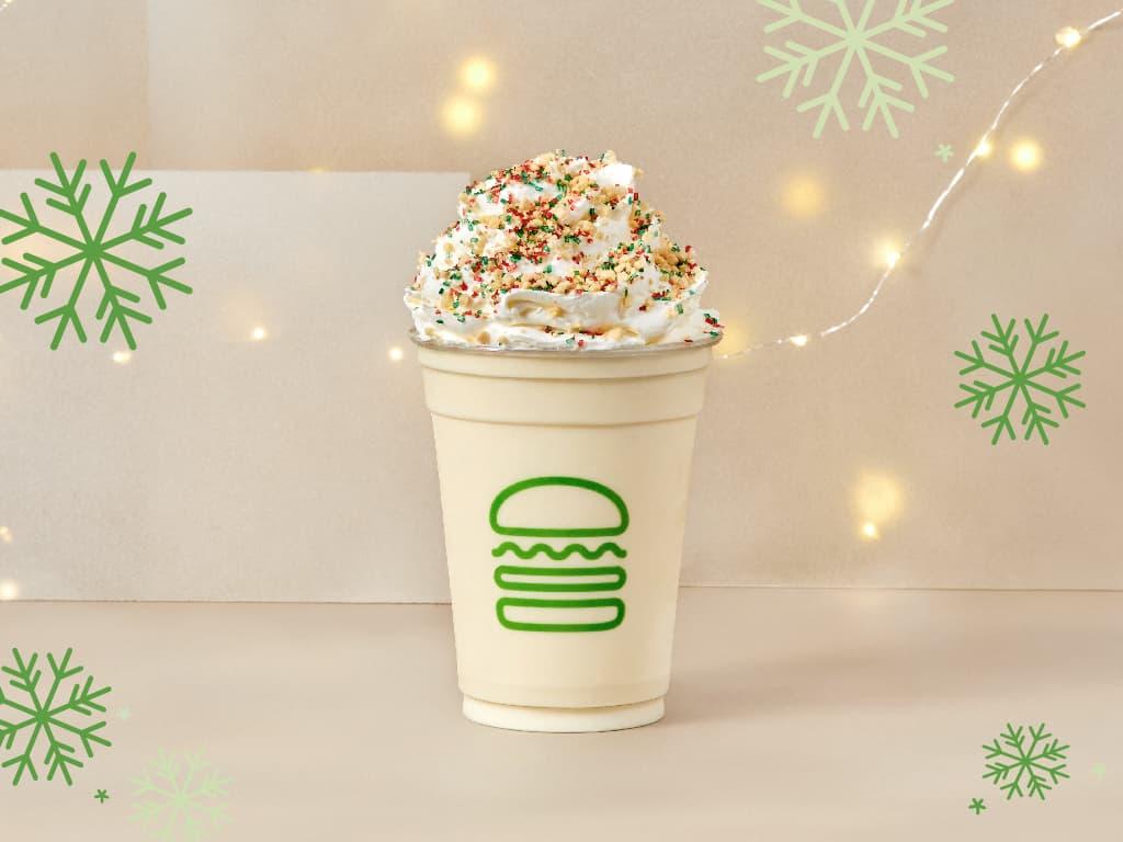 Christmas Cookie Shake shake shack