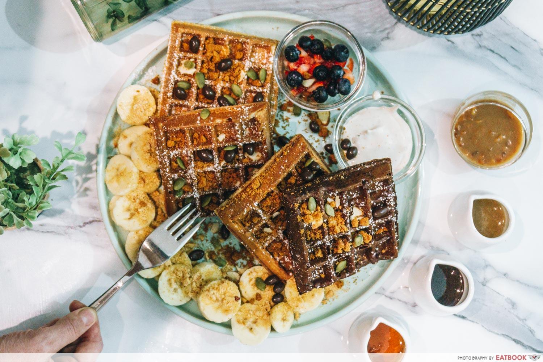 madlygood waffles platter