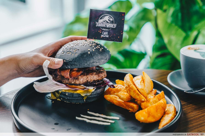 jurassic world burger
