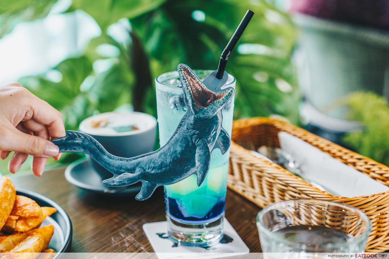 mosasaurus soda