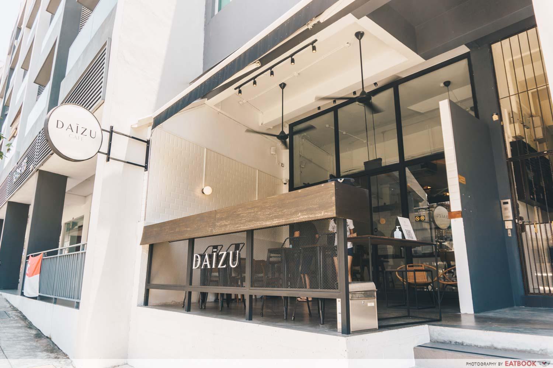 Daizu Cafe Exterior