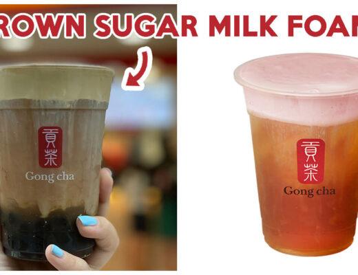 Gong Cha Milk Foam Cover 2