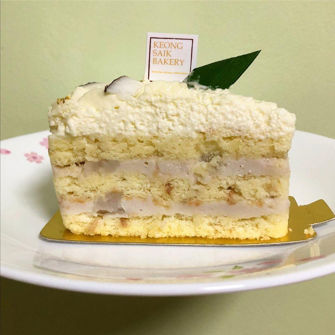 Keong Saik Bakery - Orh Nee Cake