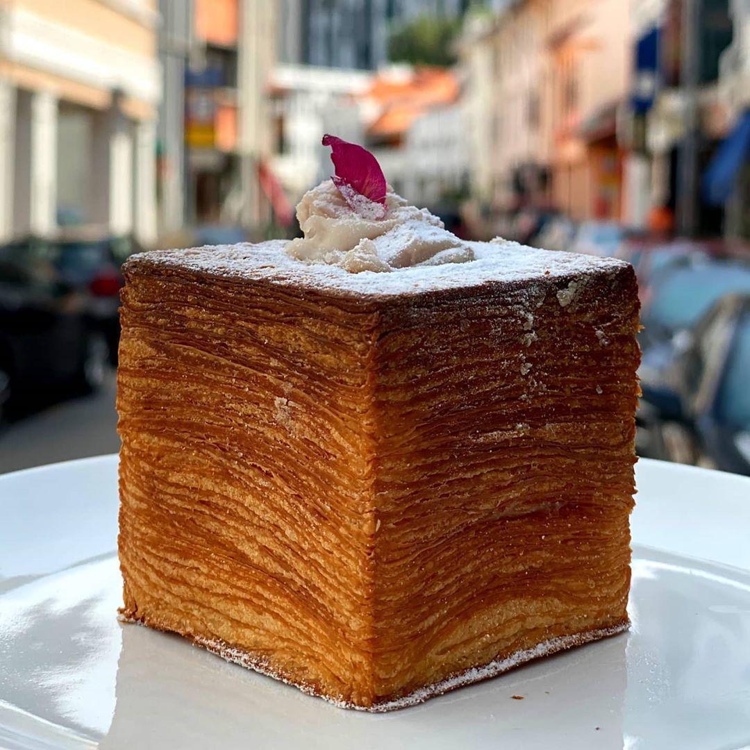 Keong Saik Bakery - Orh Nee Croissant Cube 3