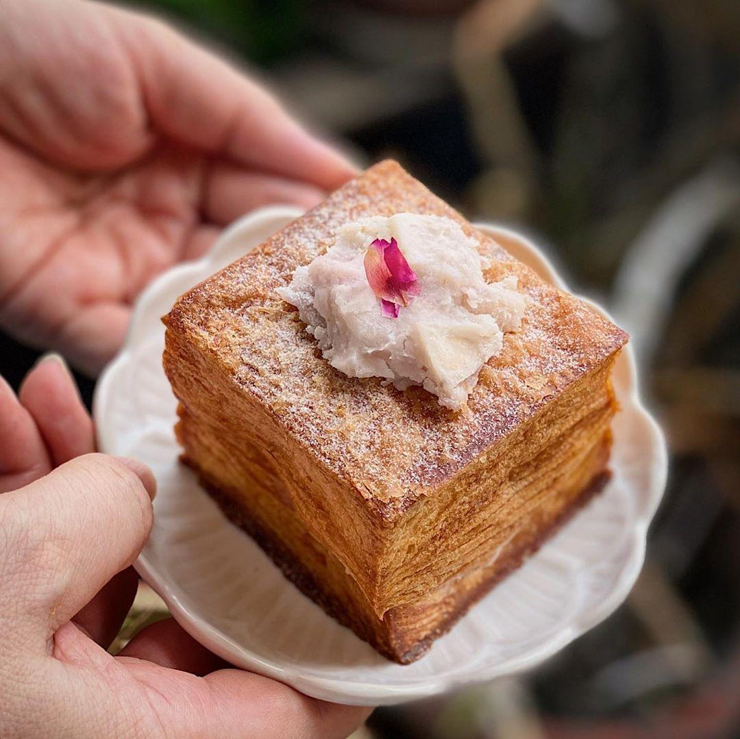 Keong Saik Bakery - Orh Nee Croissant Cube