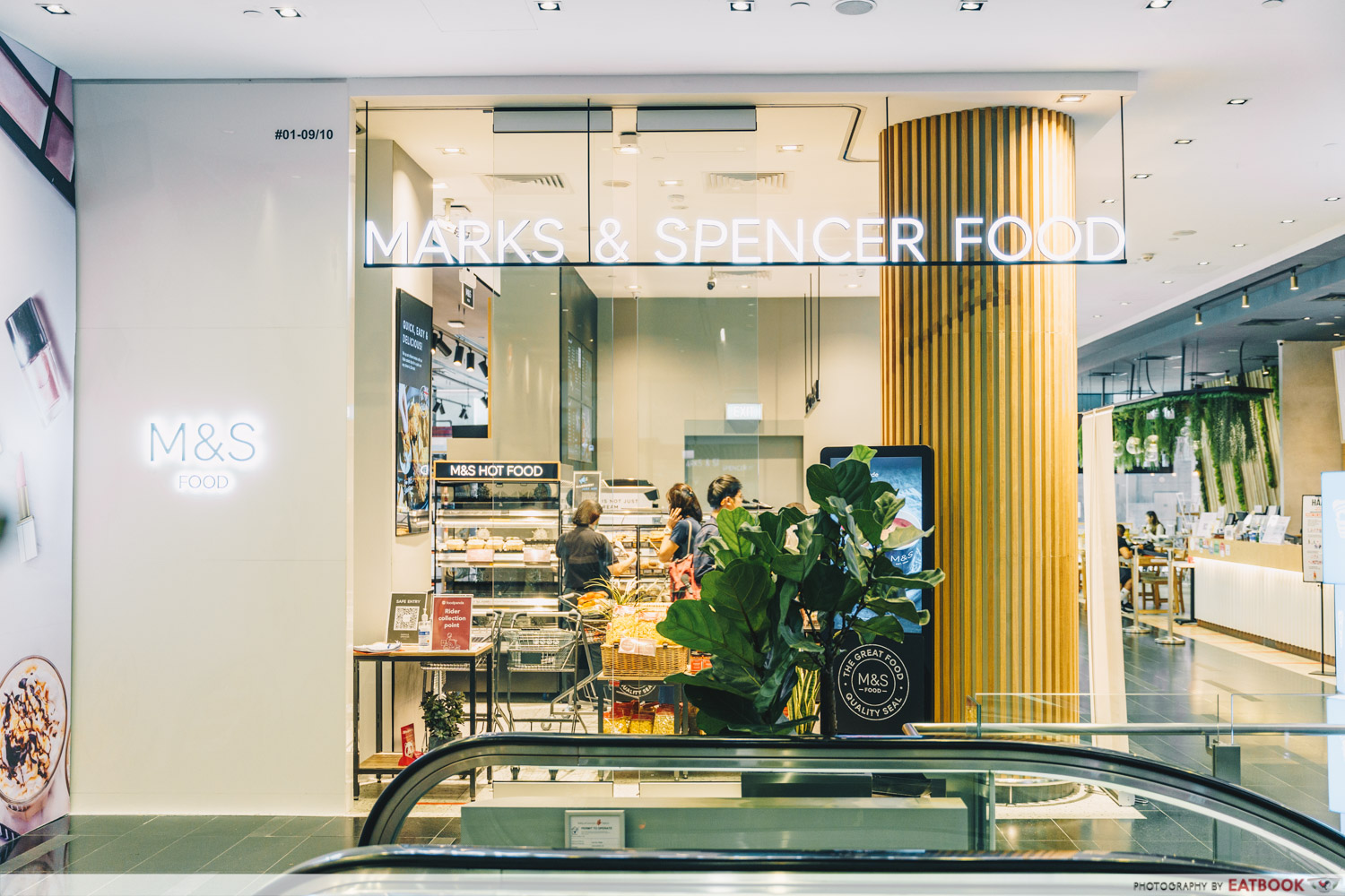 One Raffles Place Marks & Spencer