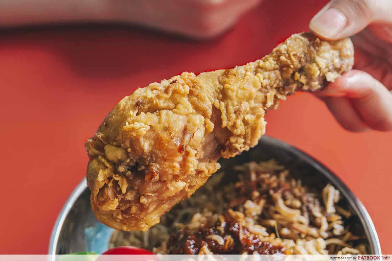 Nine Spices - nasi rempah chicken