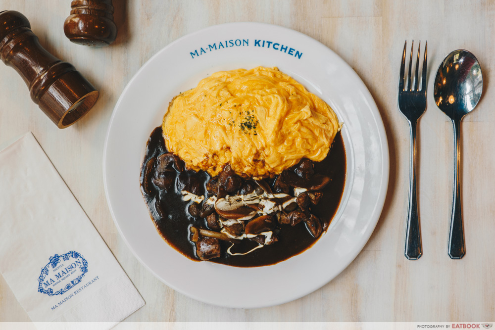 PARCO Ma Maison Kitchen - Beef Stroganoff with omurice 1