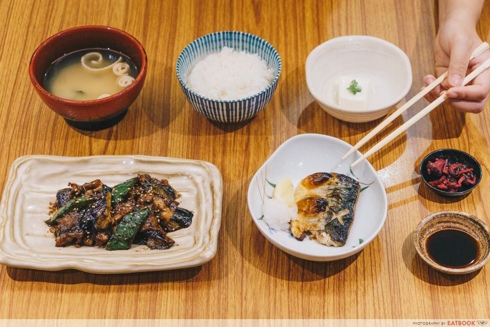 PARCO YAYOI - Nasu Miso & Saba Teishoku 1