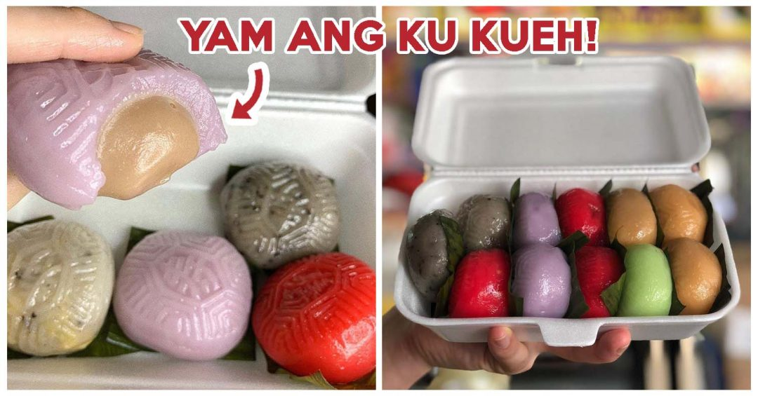 Poh Cheu Soon Kueh And Ang Ku Kueh