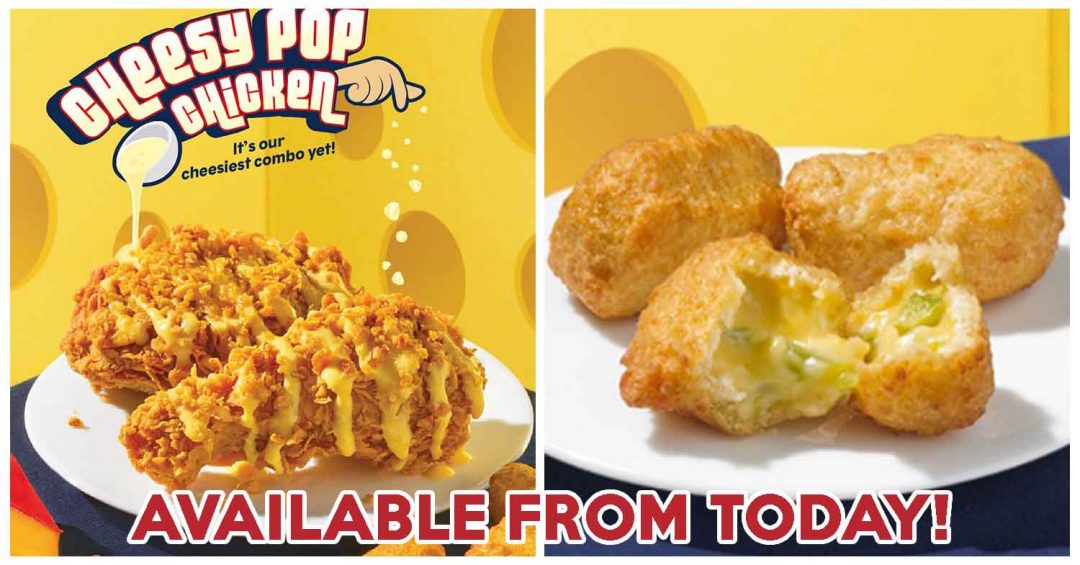 Popeyes Cheesy Pop Chicken cover