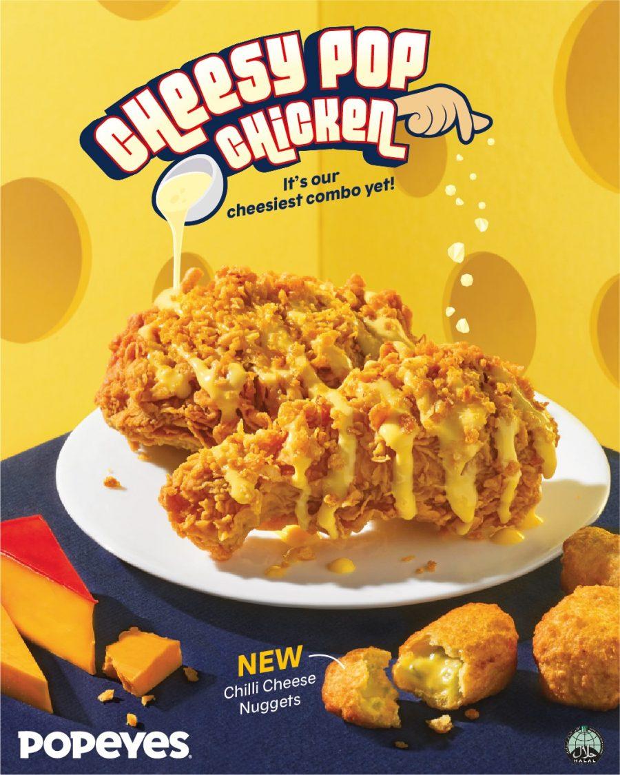 Popeyes Cheesy Pop Chicken