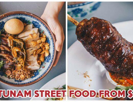 Pratunam Chicken and Pork Leg Rice Feature