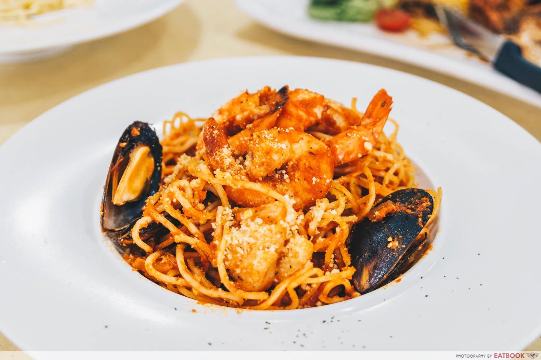 Rise & Rice Grill Kitchen - seafood marinara