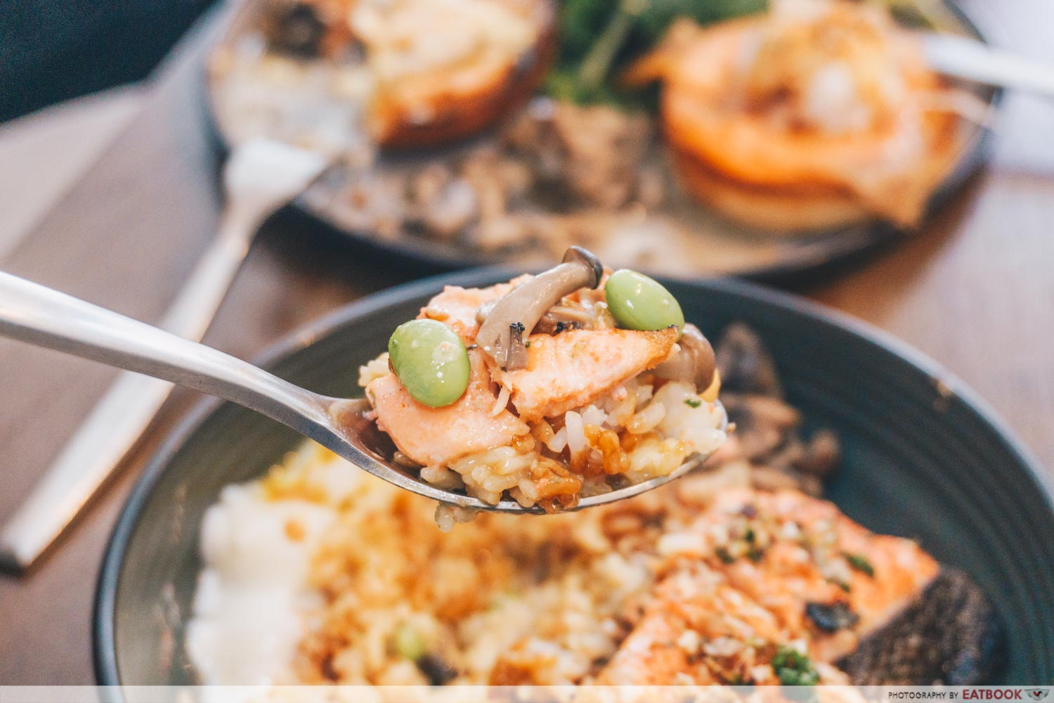 Spoonful of Torched Mentaiko Salmon Rice Bowl