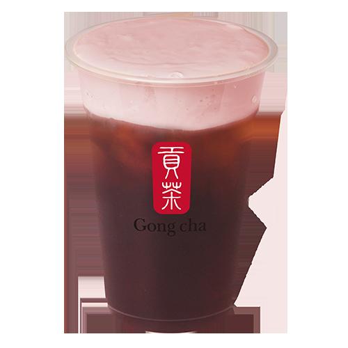 Gong Cha Strawberry Milk Foam