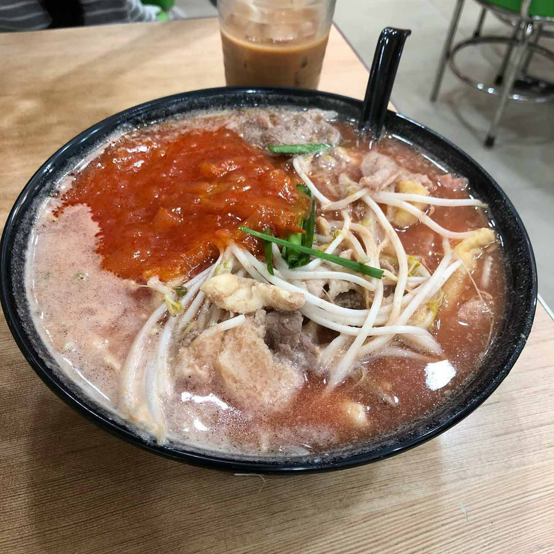 TamJai SamGor Singapore - rice noodles