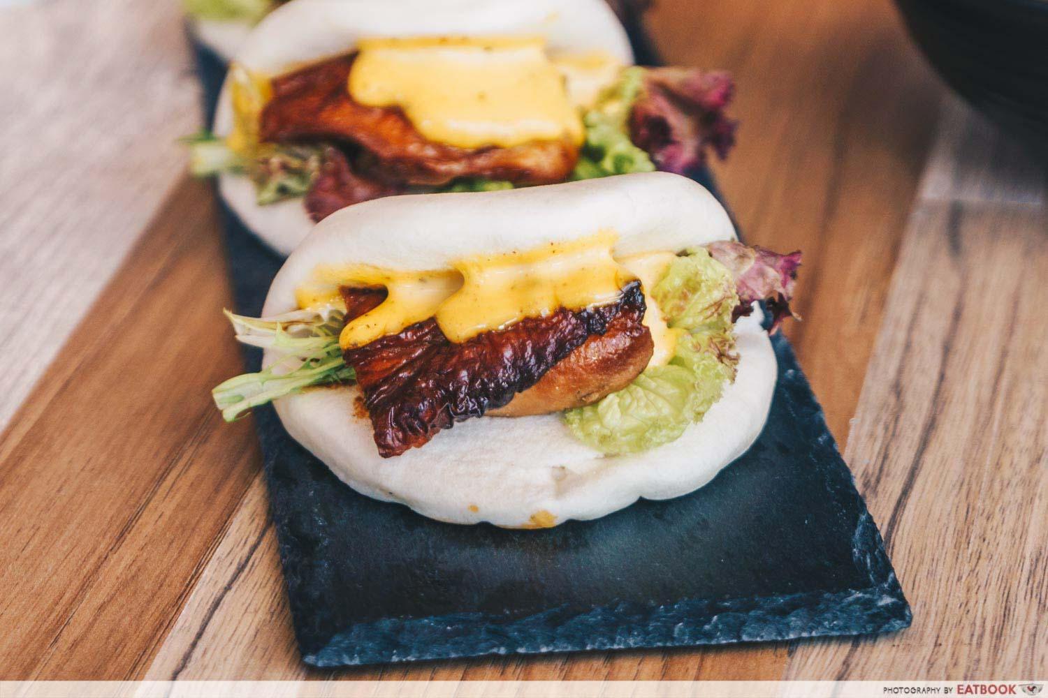 Tsuta New Menu - teriyaki chicekn bao