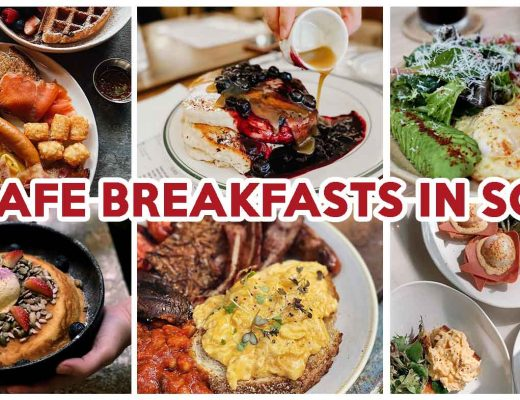 cafe breakfasts in singapore