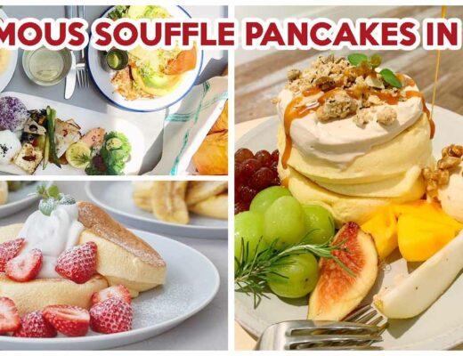 Flipper's souffle pancakes