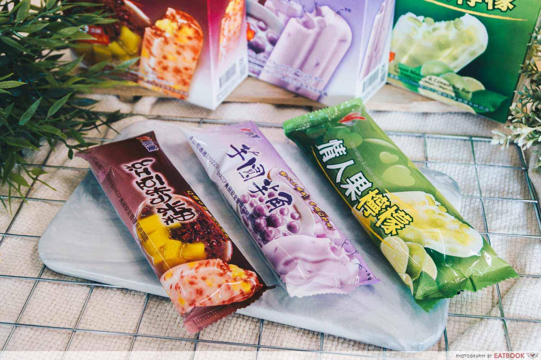 happy ice ice cream - other flavours