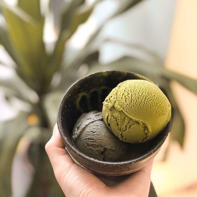 matcha gelato