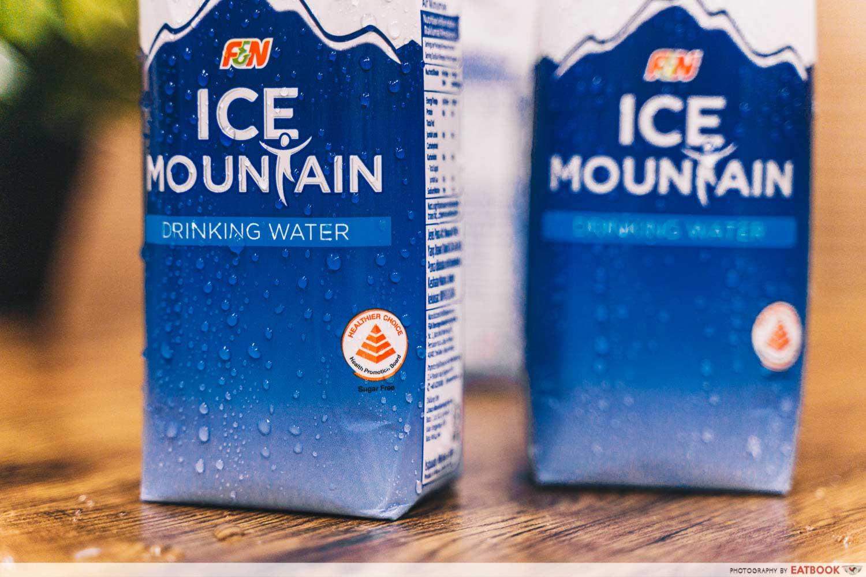 ice mountain - healthier choice symbol