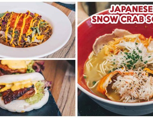japanese snow crab soba tsuta