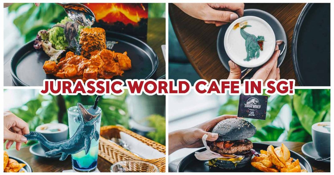 jurassic world cafe