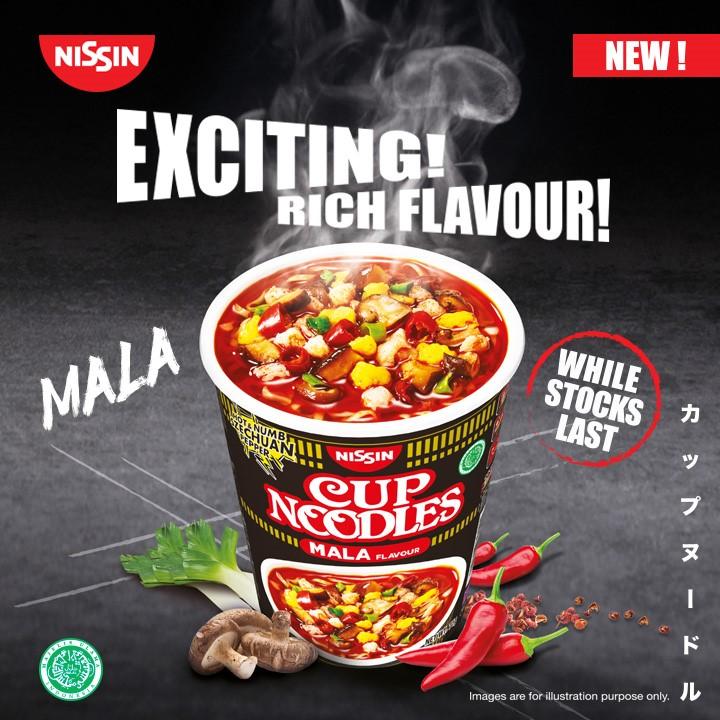 nissin mala cup noodles
