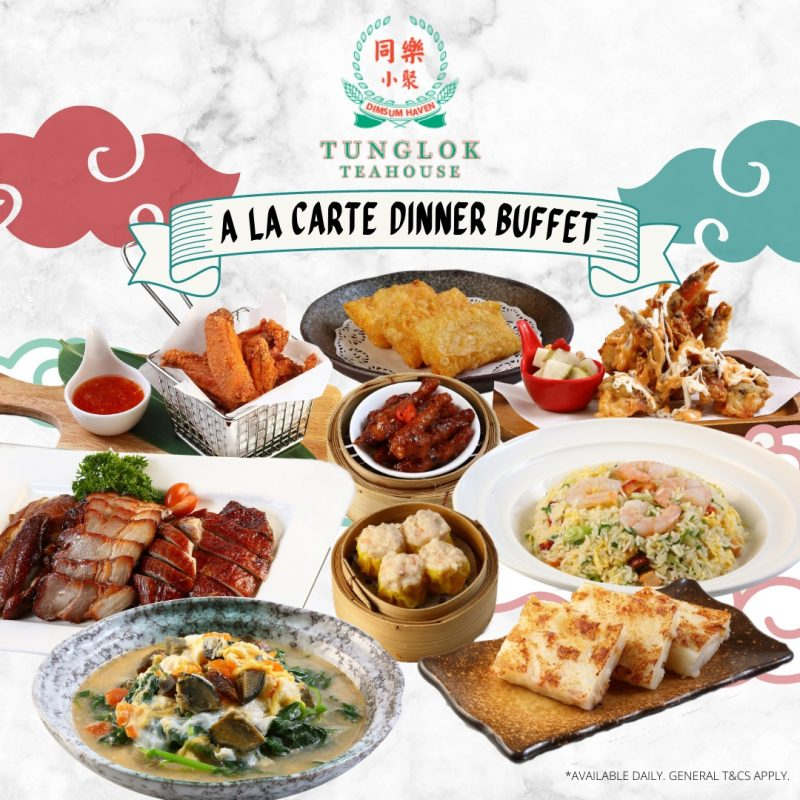 tunglok teahouse buffet