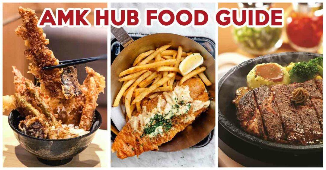 AMK Hub Food Guide