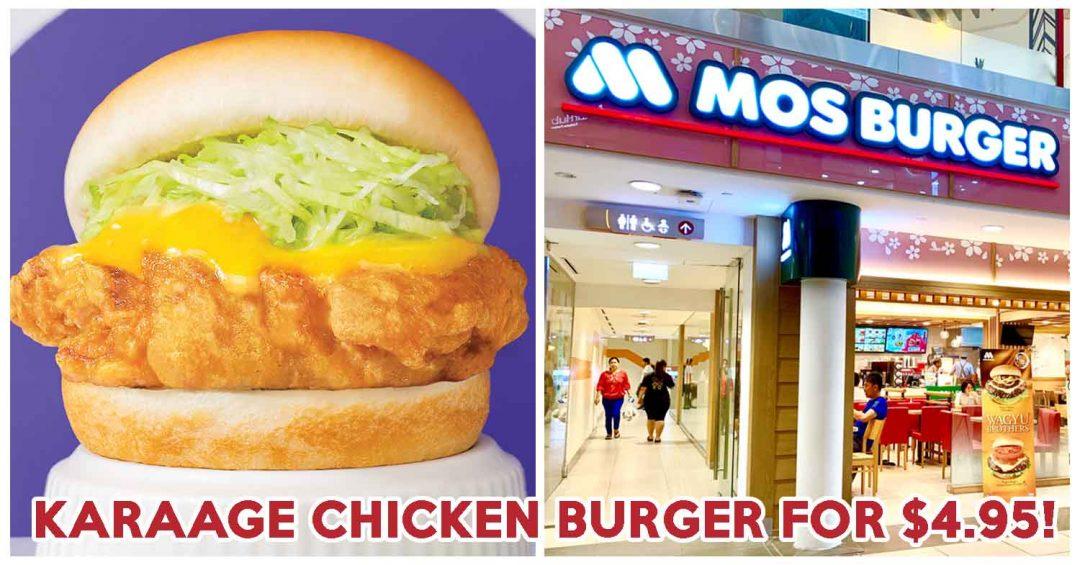 mos burger fried chicken burger