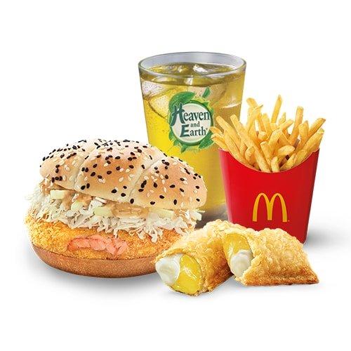 McDonald's Hokkaido Salmon Feast