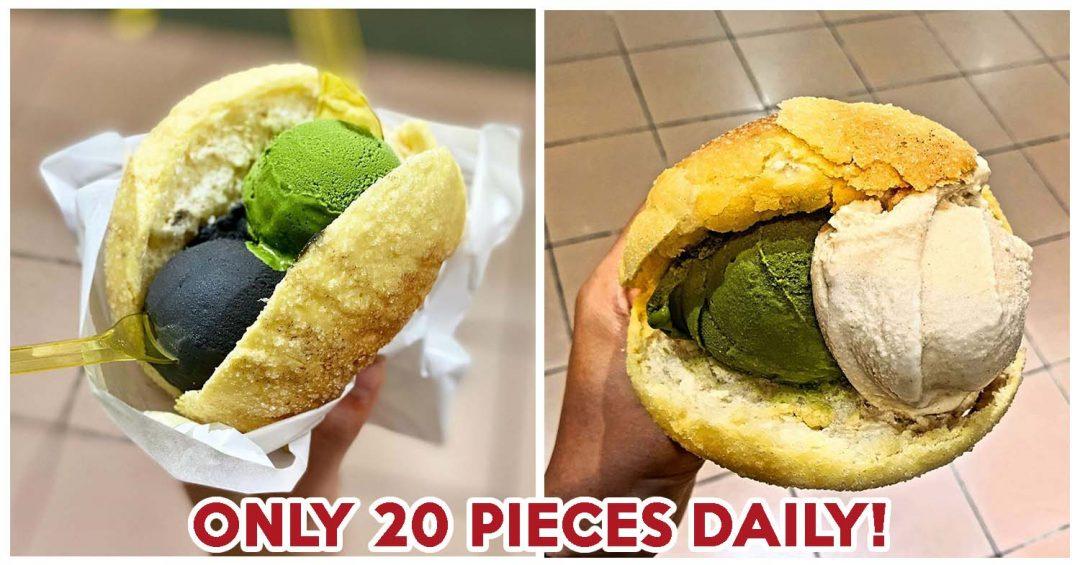 melon pan ice cream - feature image