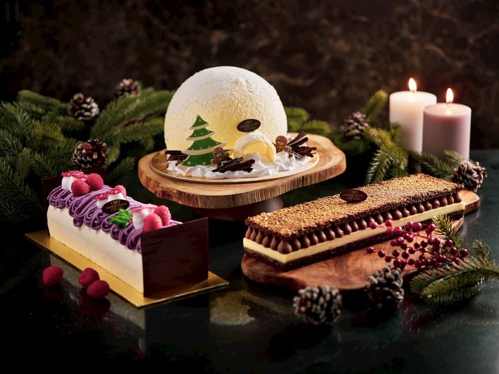 log cakes festive deals