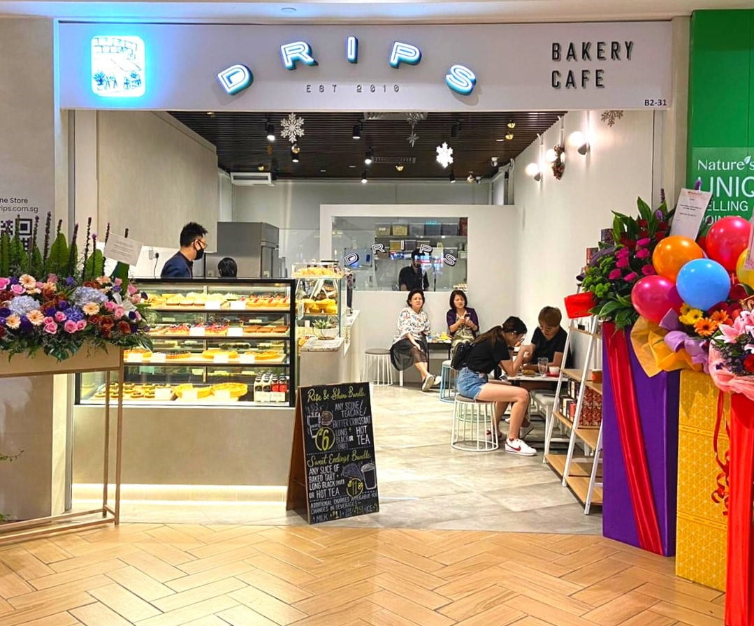 Drips Bakery Café Store Front
