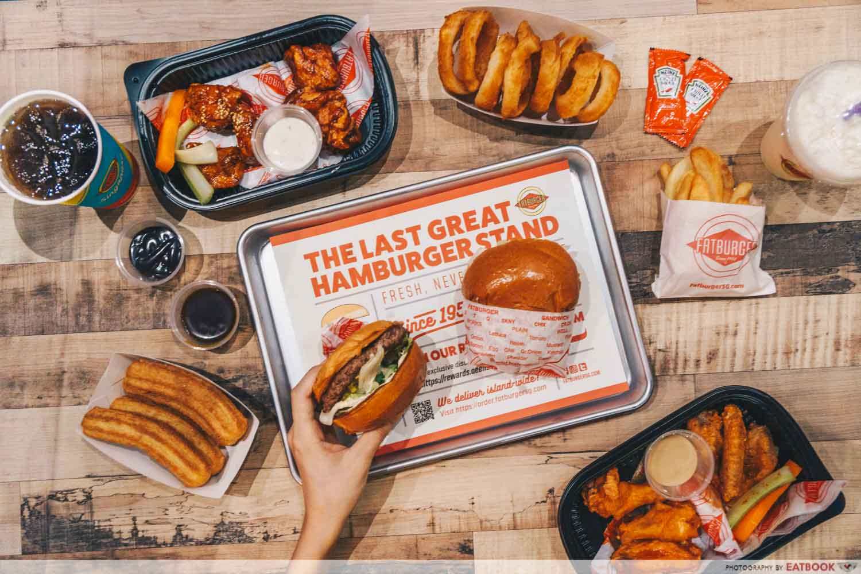 Fatburger Flagship Flatlay