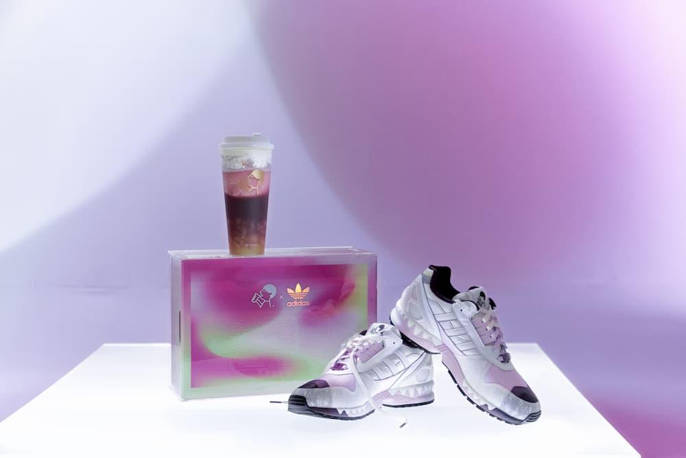 HEYTEA x adidas sneakers