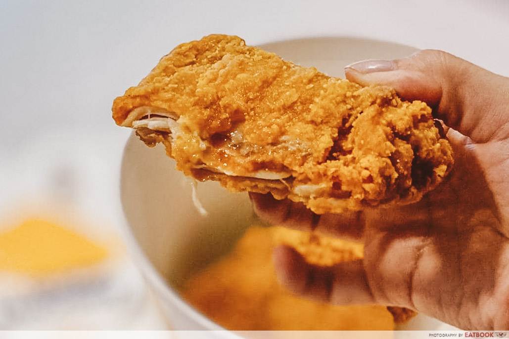 chicken McCrispy-juicy