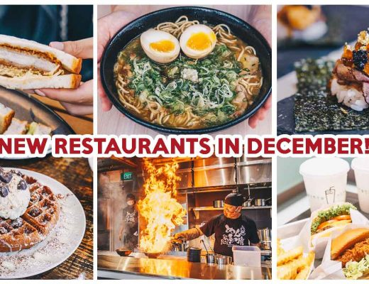 NEW RESTAURANTS IN DECEMBER