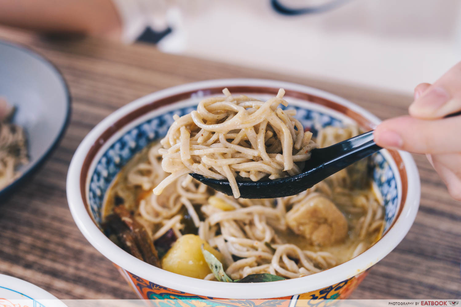 green curry soba