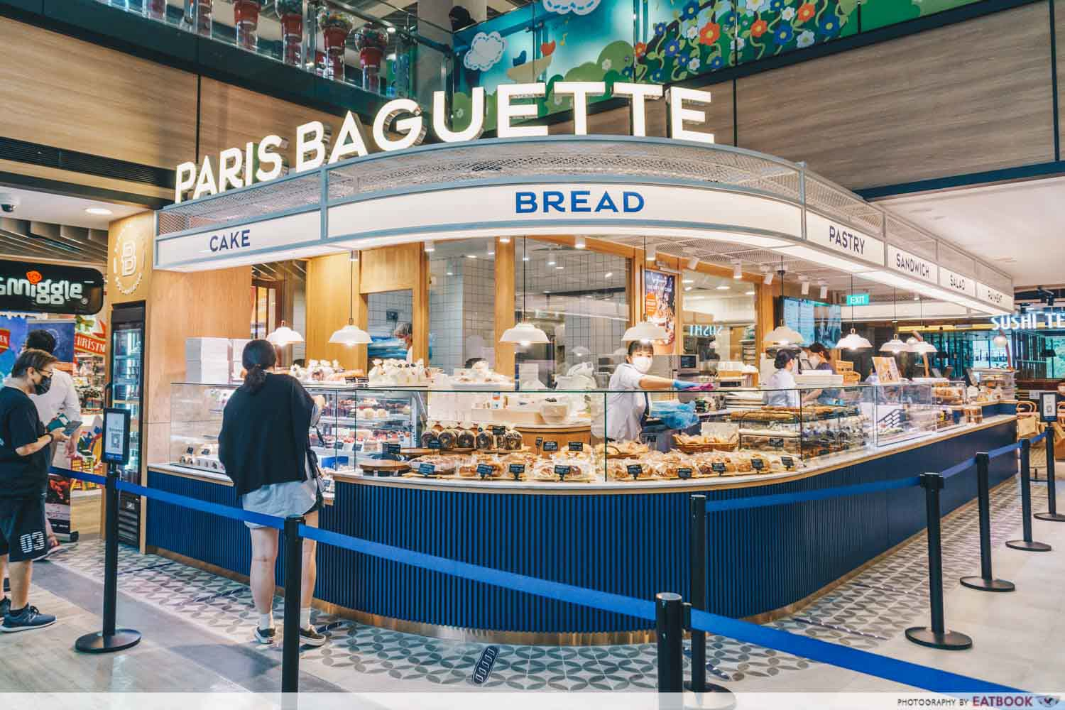 Paris Baguette Northpoint - northpoint new stall